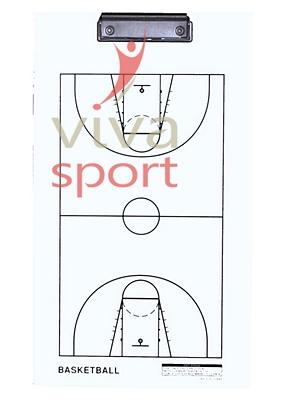 Edzői tábla kosárlabda fehér 40x23