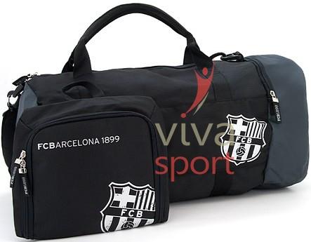 A Barcelona sporttáska 1 db Barcelona minitáskával kiegészített szett  együttese. A sporttáska belsejében 1 cipzáras tárolórész és 2 tárolórekesz  van ... 410af4dab1