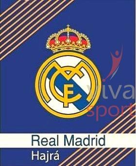 Real Madrid polár pléd (napsárga csíkokkal)